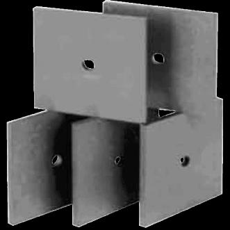 3610 - UHF feritové absorpční dlaždice